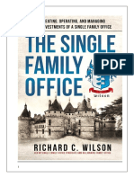 The Single Family Office Book