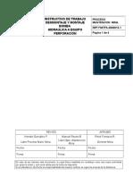 It-i-mm-13 Desmontaje y Montaje Bomba Hidraulica Equipo Perforacion