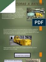 Locomotoras a Bateria