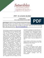 Futuribles SCENARIOS 2020_Rosnay