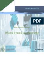 análisis y diseño de experimentos