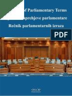 Glossary of Parliamentary Terms, OSCE.pdf