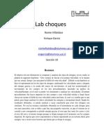 Informe Choques R.villalobos E.garcía