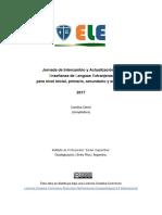 Jornada ELE - Acta 2017