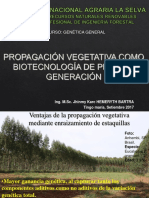 Clase 2.1 Propagación Vegetativa