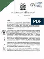 Resolución Ministerial N° 126-2018 (Archivo)