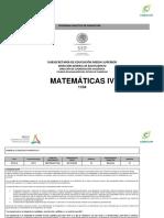 Programa Analitico de mate 4