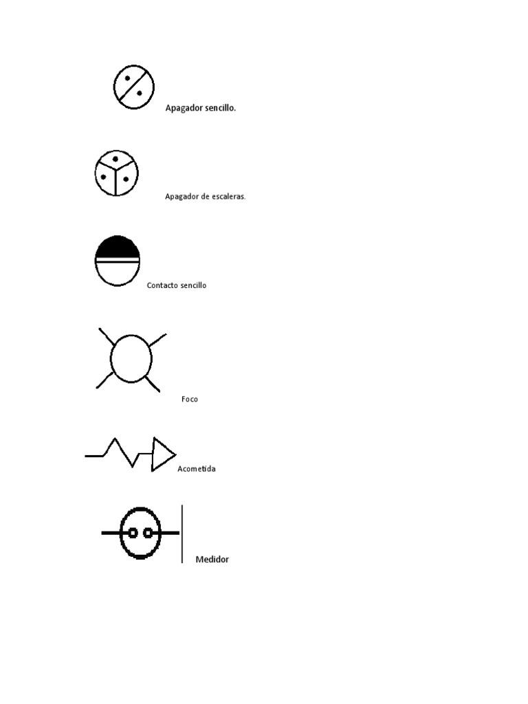 Simbologia para planos for Simbologia arquitectonica para planos
