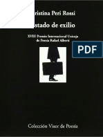 Cristina Peri Rossi Estado de Exilio