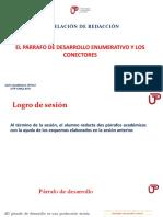 2B-El Párrafo Enumerativo y Conectores(PPT) 2018-2