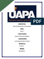Tarea i Etica Profesional de Los Docentes Jose Angel...