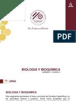 Biologia y Bioquimica Sesion I