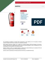 Extintor Asiatico Pqs 10 Kilos 40 Importado