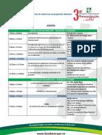 Agenda Definitiva - III Encuentro Humanización (22 y 23 de Octubre 2015)