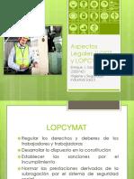 Aspectos Legales (Lottt y Lopcymat)