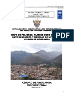 4290 Mapa de Peligros Plan de Usos Del Suelo Ante Desastres y Medidas de Mitigacion Ciudad de Urubamba