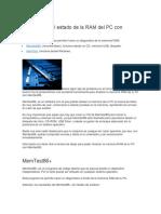 Diagnosticar El Estado de La RAM Del PC Con MemTest