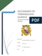 Diccionario de Terminología Química