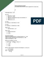Seismic Calcs - WIP
