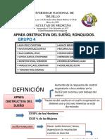Fisiopatología Del SAOS
