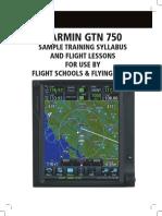 Garmin 750 Training Syllabus