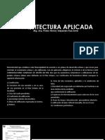 ARQUITECTURA-APLICADA-Proyecto.ppt