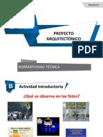 5 Quinta Clase de Proyecto Normatividad