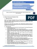 2. Modul Pengadaan Tanah (Land Acquisition)