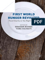 First World Hunger Revisited Food Charity or the Right to Food