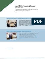 Philippines Legal Ethics Manual