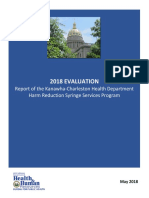 Kanawha-Charleston Health Department's Harm Reduction Program Review