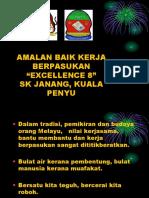 Amalan Baik Kerja Berpasukan SK Janang 2017-2018