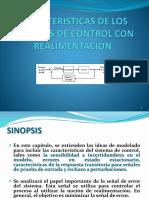 CARÁCTERISTICAS DE LOS SISTEMAS DE CONTROL CON REALIMENTACION.pptx