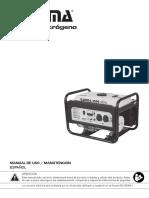 Manual Grupo Electrogeno GAMMA