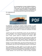 12. Alianzas Estrategicas en El Transporte Maritimo Mundial