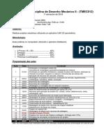 Programa Da Disciplina - TMEC012 B
