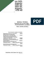 MANUAL TECNICO 5425 5725 Pruebas y Funcionamiento