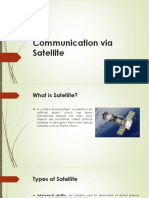 Communication via Satellite