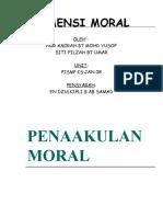 Dimensi Moral
