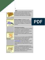 Lineaciones Trabajo d Geologia Esgtructural SSSSS