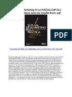 El Plan de Marketing en La PrÁCtica (18ª Ed.)