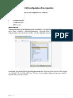 FI SD Integration