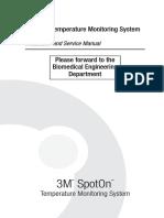 SpotOn 370 Service Manual