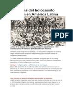 Memorias Del Holocausto Indígena en América Latina