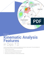 New Kinematic Analysis Options in Dips 7.0