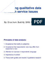 6. Qualitative Data Analysis