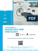 Radiology&Oncology 2018 Brochure