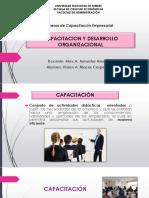 CAPACITACION Y DESARROLLO ORGANIZACIONAL.pptx