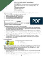 Soal Bahasa Indonesia Kelas 7 Akselerasi