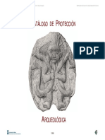 PGOU_Catálogo de Protección Arqueológica